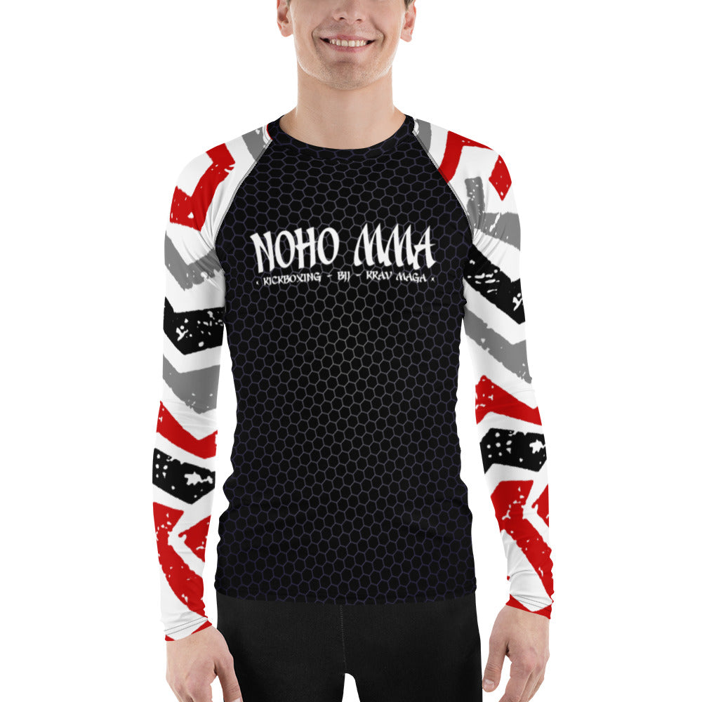 NoHo MMA Men's Rash Guard V2.0