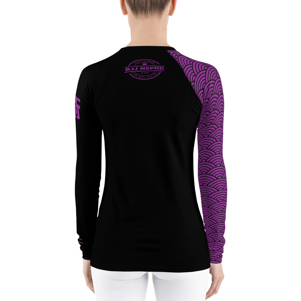 Seven Swords BJJ NSPRD Women's Rash Guard