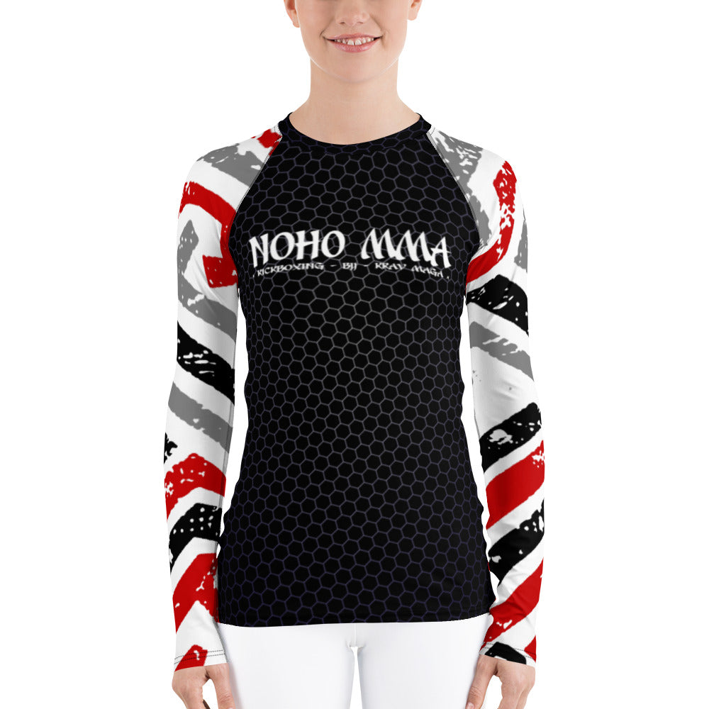 NoHo MMA Women's Rash Guard V2.0