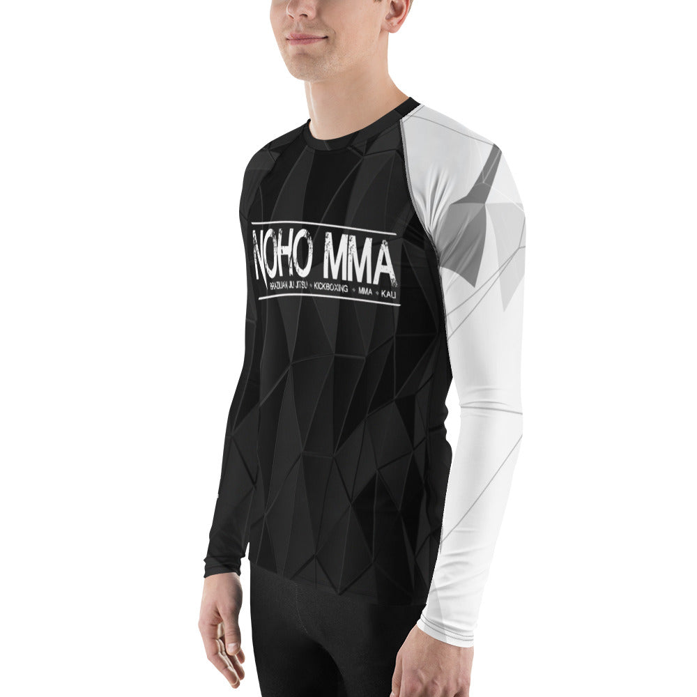 Men's NoHo MMA White Belt Rash Guard