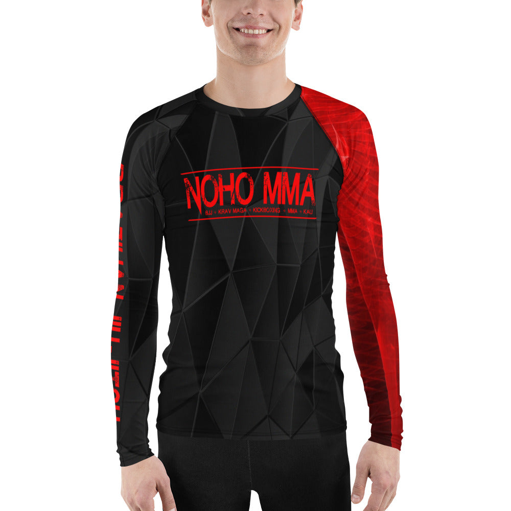 Men's NoHo MMA Black Belt Rash Guard