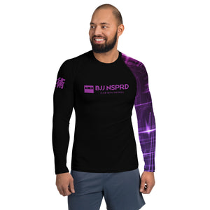 Purple Belt BJJ NSPRD Men's Rash Guard