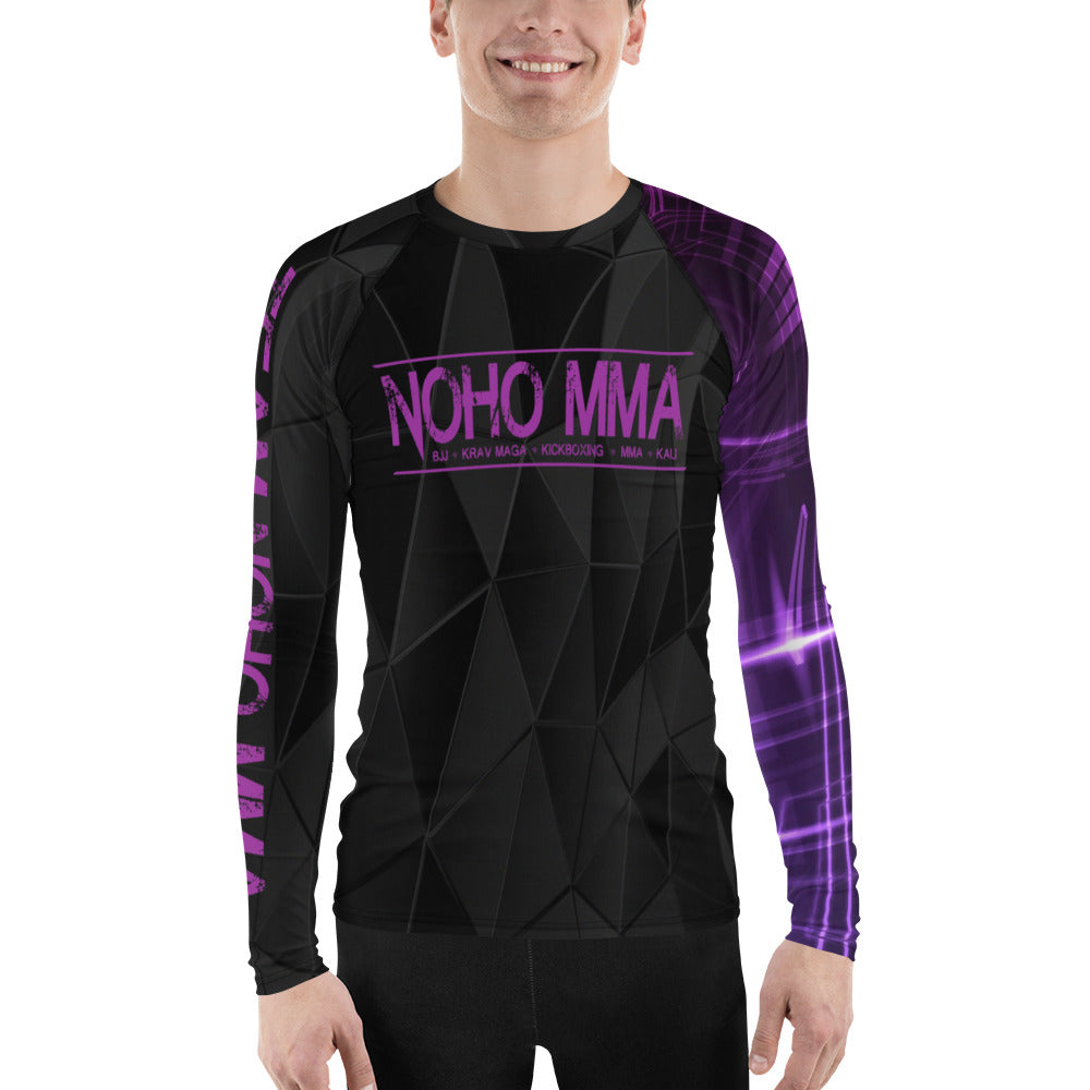 Men's NoHo MMA Purple Belt Rash Guard
