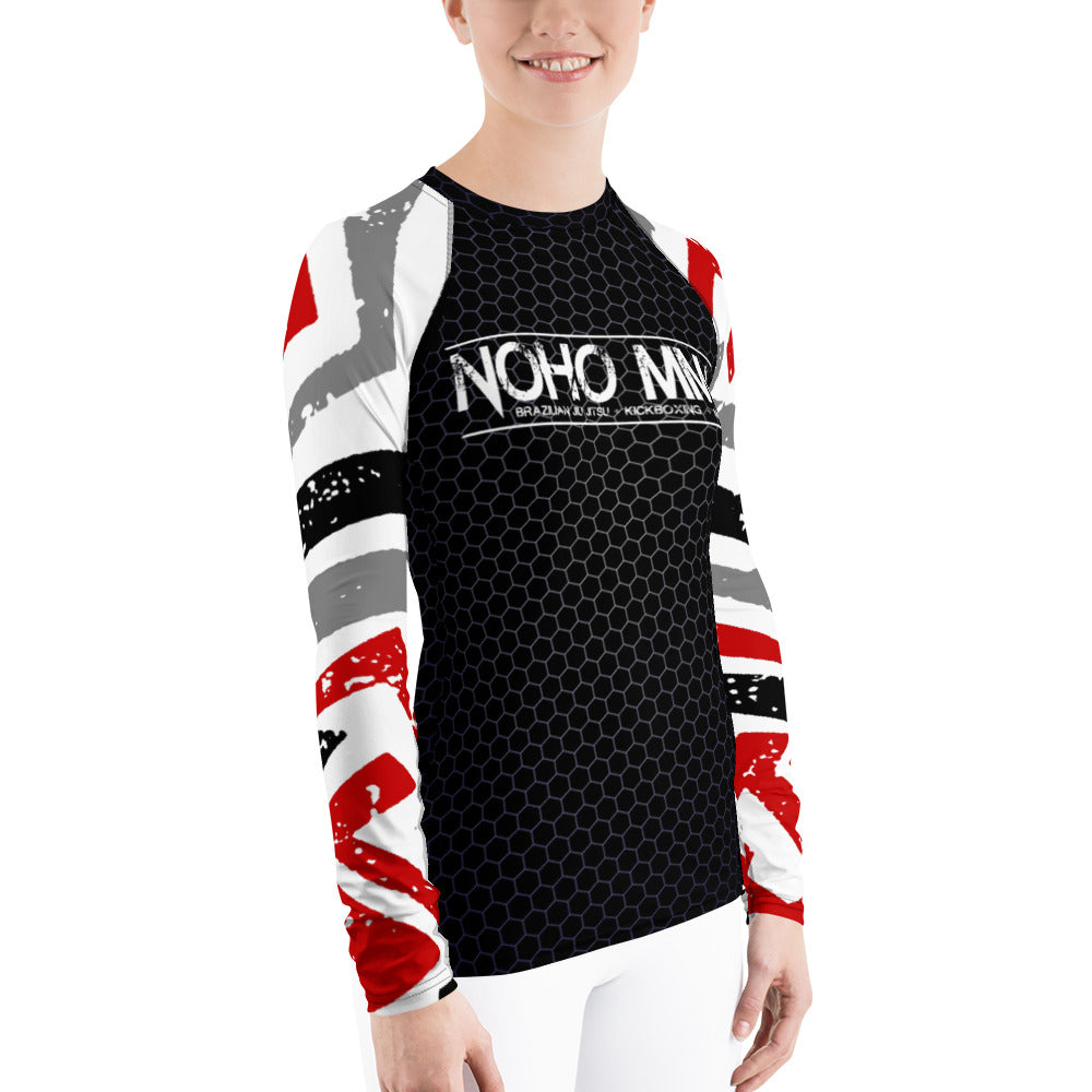 Women's NoHo MMA School Rash Guard