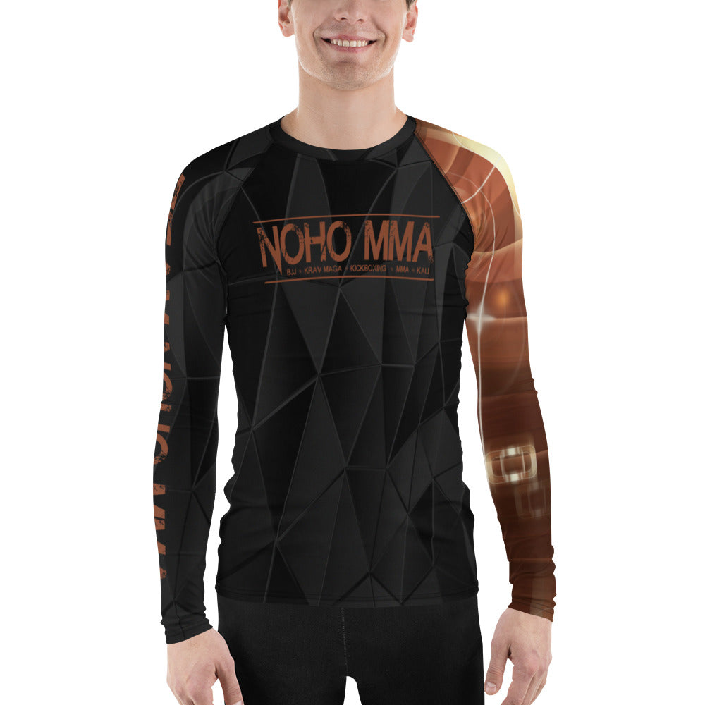 Men's NoHo MMA Brown Belt Rash Guard