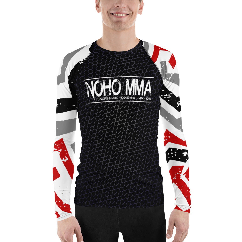 Men's NoHo MMA School Rash Guard