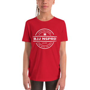 Kids Badge BJJ NSPRD Unisex Tee