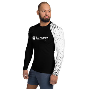 Matrix White Belt Men's Rash Guard