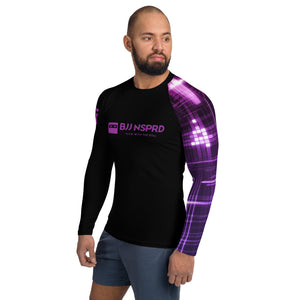 Purple Belt Ranked Purple Belt Men's Rash Guard