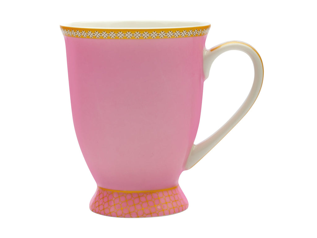 Maxwell & Williams Teas & C's Kasbah Hot Pink 300ml Footed Mug