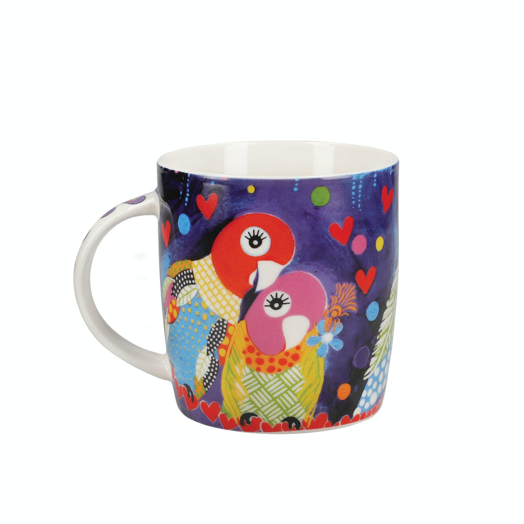 Maxwell & Williams Love Hearts 370ml Love Birds Mug
