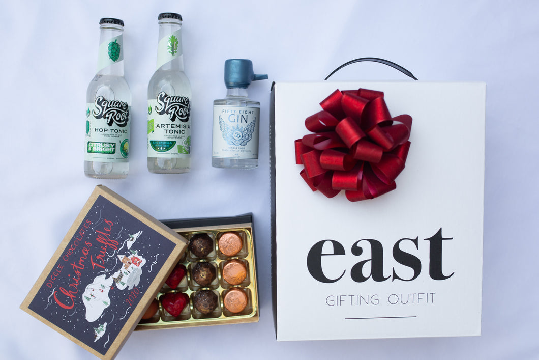 Christmas Chocs n' Craft Gin Gift
