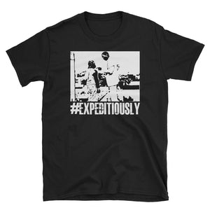 #EXPEDITIOUSLY BLACK-TEE