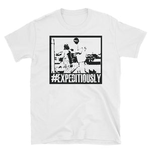#EXPEDITIOUSLY WHITE-TEE