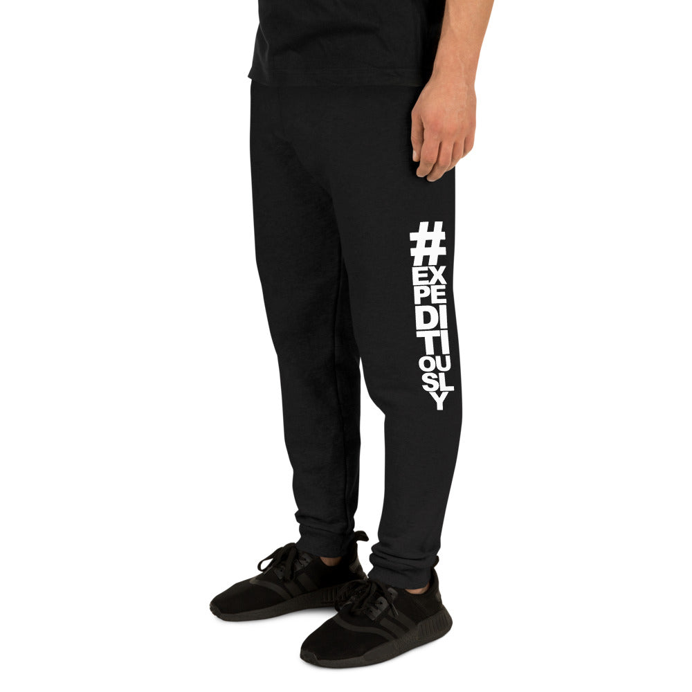 Vertical #expeditiously Unisex Joggers