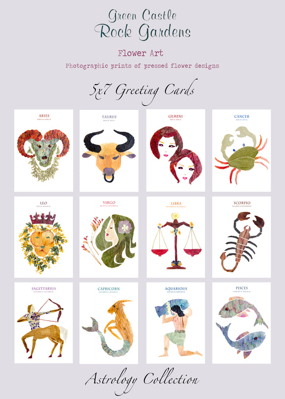 Greeting Card Set- Astrology
