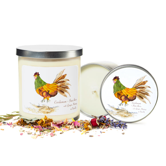 Rooster Candles