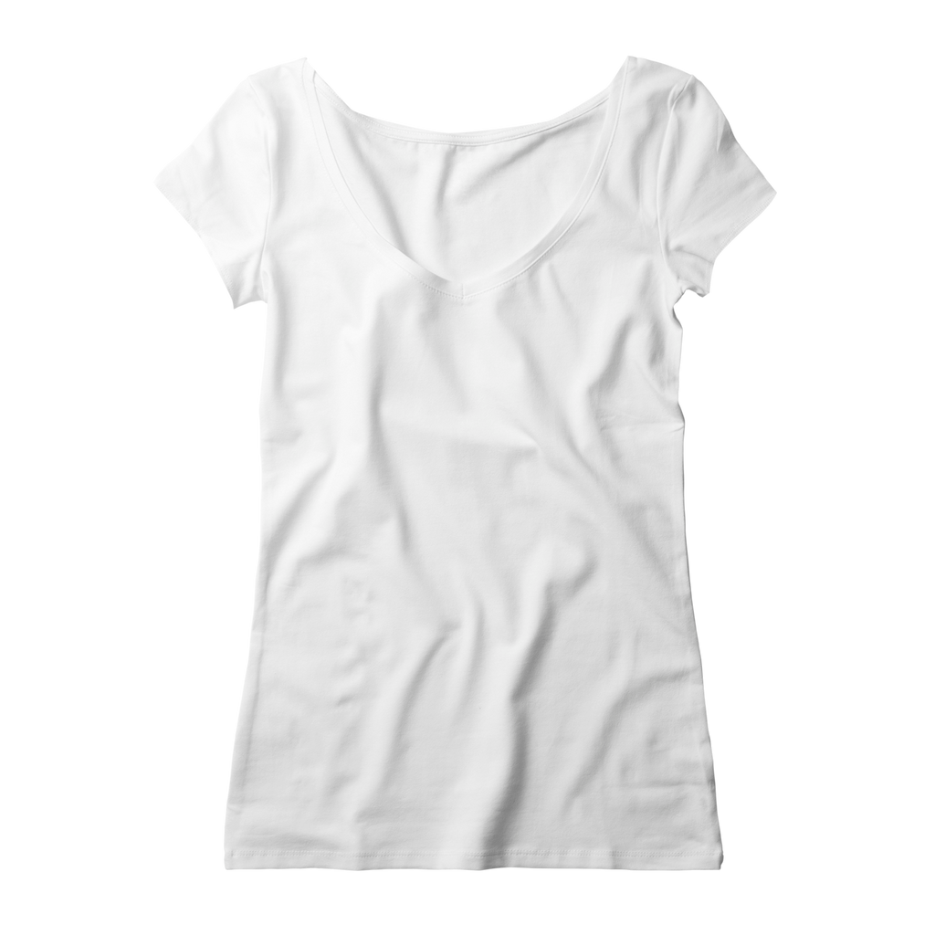 V Neck Women - White