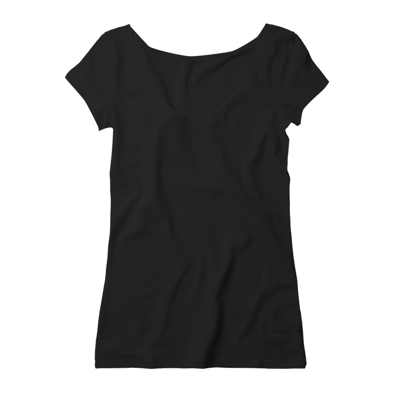 V Neck Women - Black