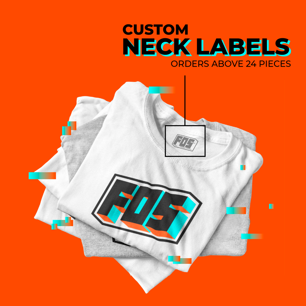 Custom Neck Label