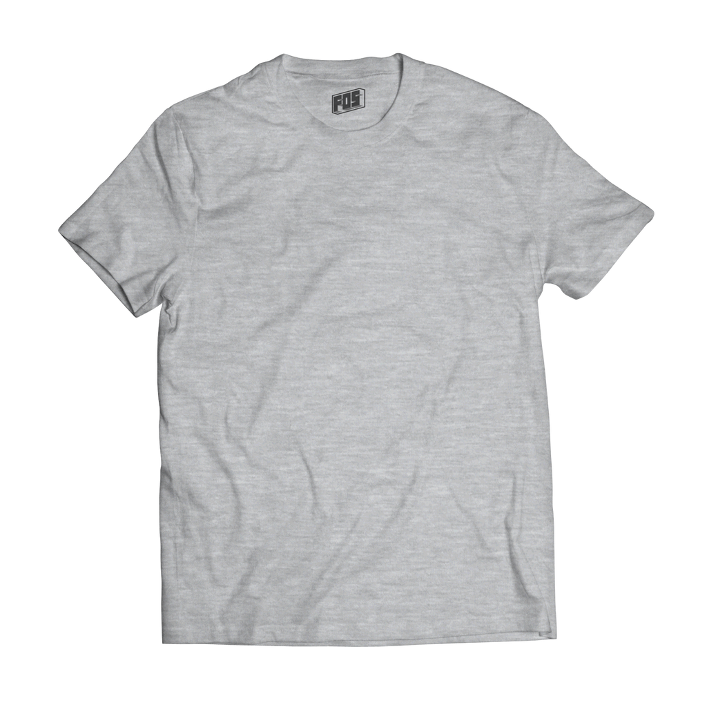 Men's Premium Short Sleeve- Heather Light
