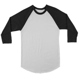 Raglan - Black - White