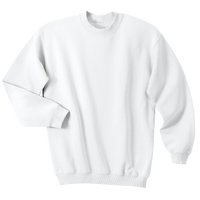 Sweatshirt Crew Neck - White