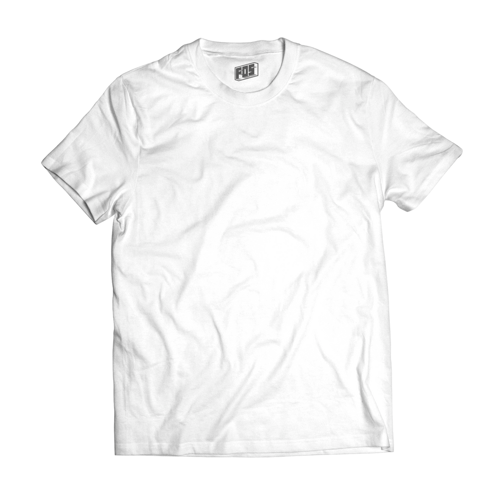Men's Premium Short Sleeve- White