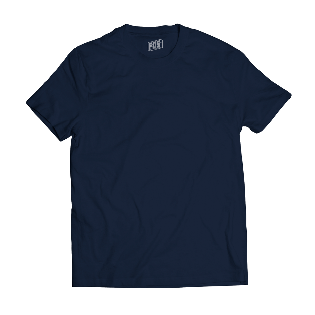 Men's Premium Short Sleeve- Navy