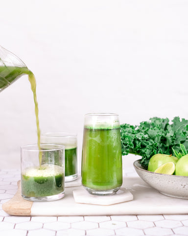 healthy green powder clean drinks co