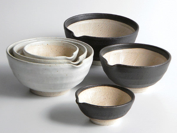 SHIKKA Lipped Mortar Bowl- Medium
