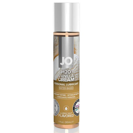 System JO H2O Flavored Water-Based Lubricant Cookies and Cream 30ml