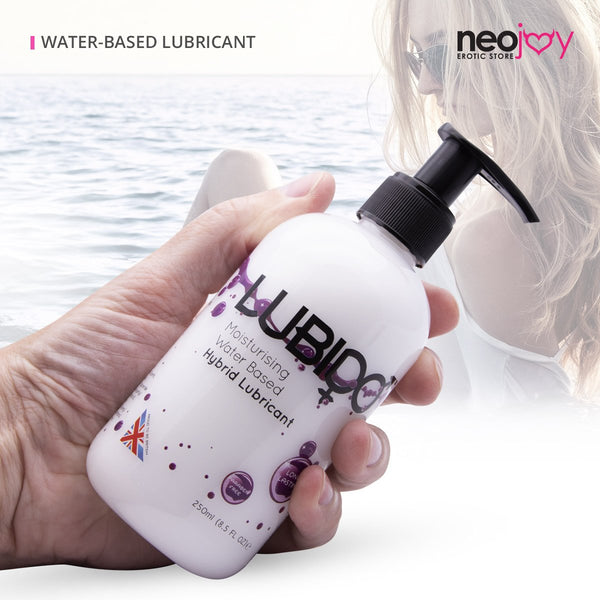 Neojoy Hybrid Lubido Water Based Lubricant With Silicone Touch - 250ml Bottle