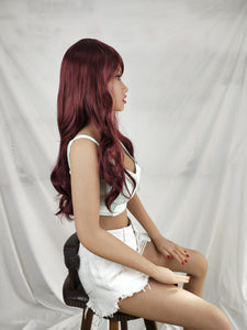 Neodoll Finest Wig - NJ29 - Sex Doll Hair - Wine Red