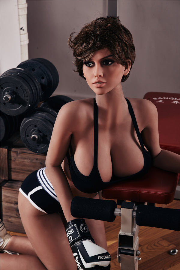 163cm Plus Big Breast Selina Real Sex Doll Love Doll for Men