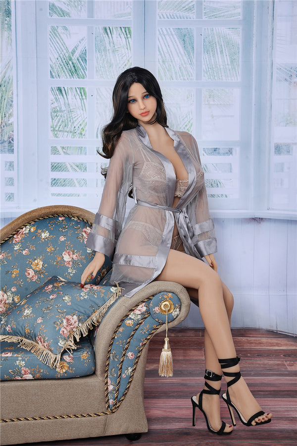 163cm Plus Miki Real Sex Doll Life Size Love Doll with Big Breast