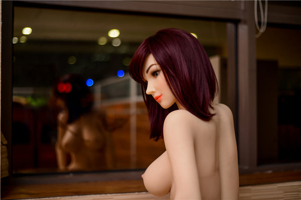 New Irontechdoll 160cm Hellen silicone sex dolls big breast sex robot doll