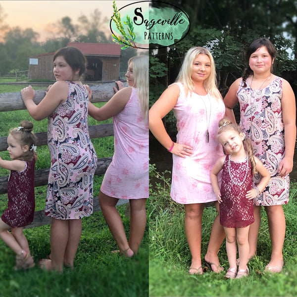 Girls-Juniors Phlox Tank Top & Dress
