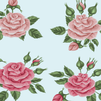 Creating Retro Painted Flowers in Photoshop