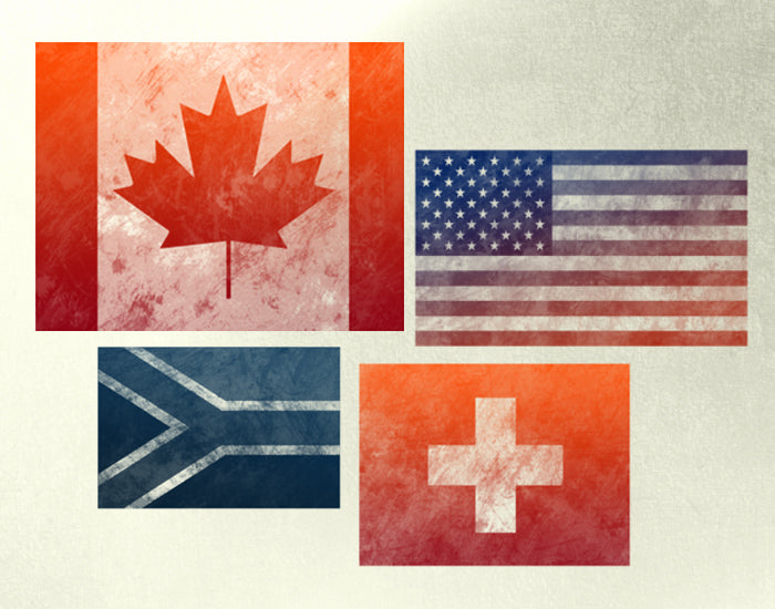 Grunge Flags