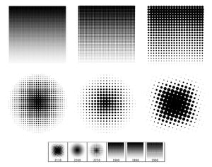 Halftone Gradients