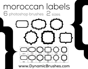 Moroccan Labels