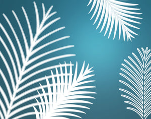 Palm Fronds Dynamic Brushes