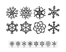 Load image into Gallery viewer, Snowflake Scribbles