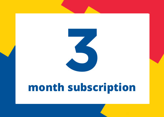 Gift a 3 month subscription