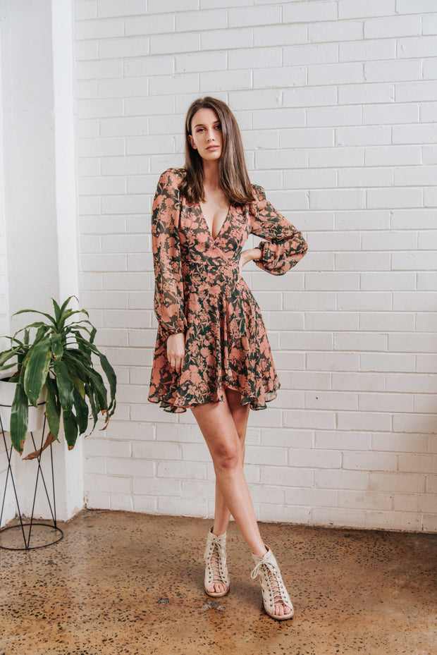 Amelia Floral Dress FRDM Clothing