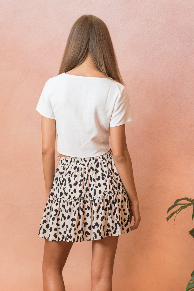 Cheetah Skirt FRDM Clothing