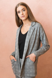 Victoria Checked Blazer FRDM Clothing