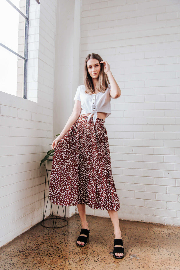 Darcie Midi Skirt FRDM Clothing