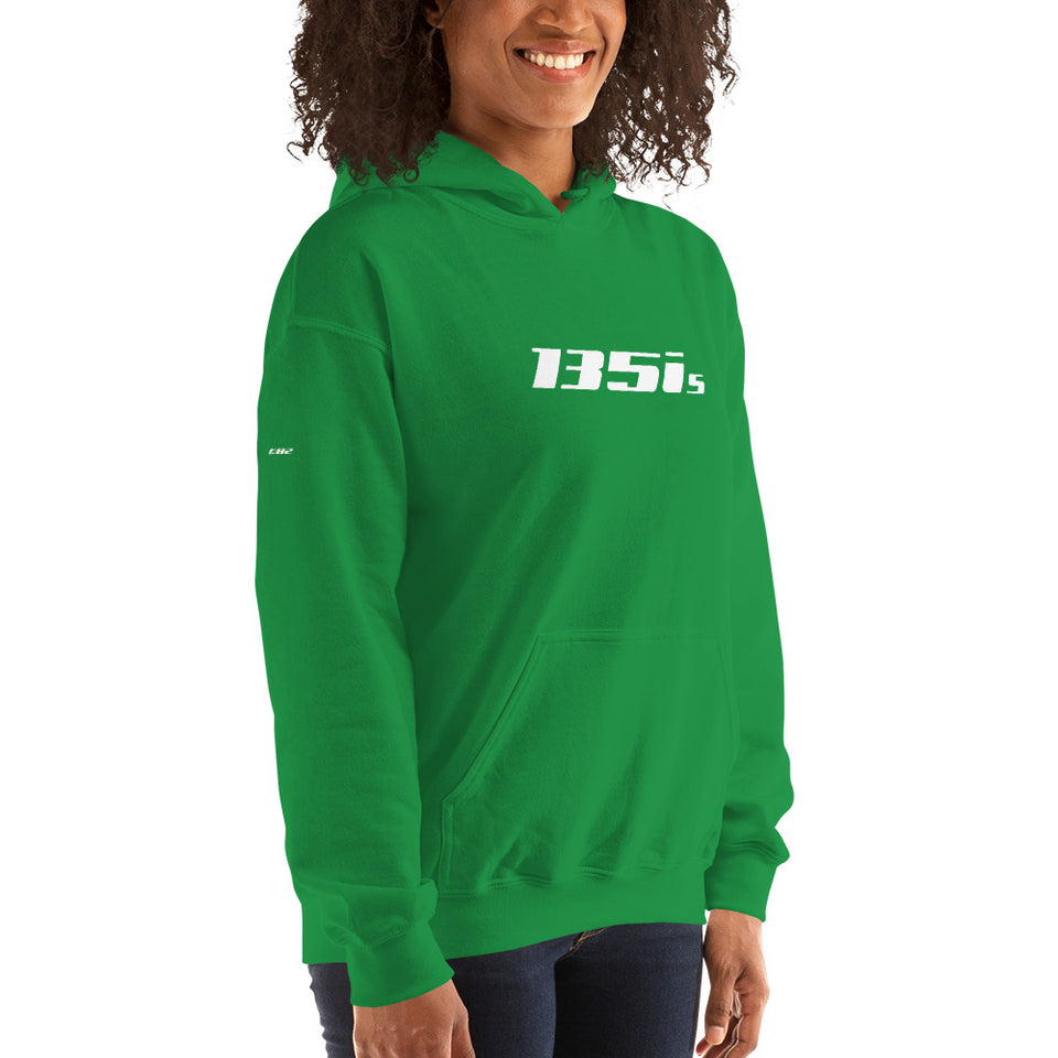 135is Hooded Sweatshirt - xoem